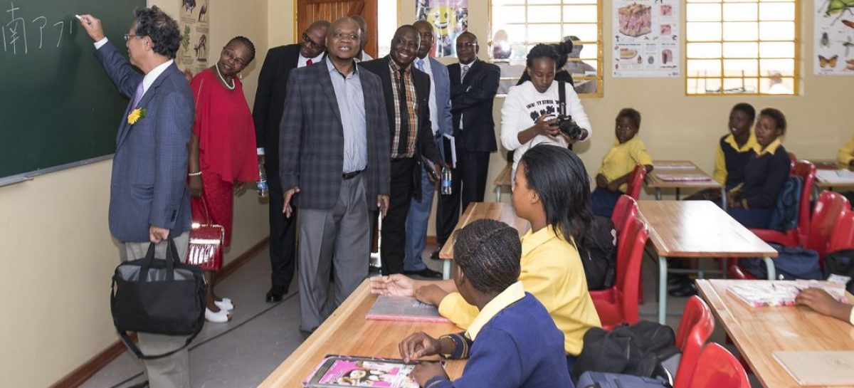 Japanese embassy invests in upliftment of youth