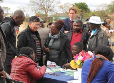 UN Chiefs visit development projects
