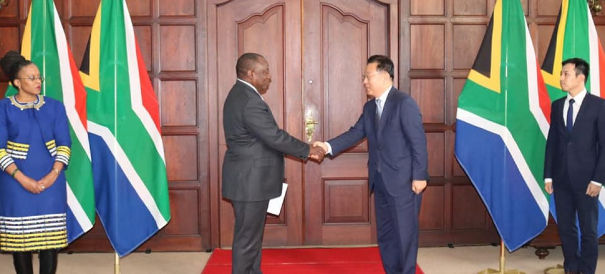Korean ambassador presents credentials