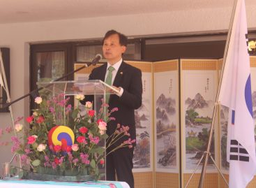 Korean Ambassador preaches peace