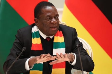 President Mnangagwa calls for national dialogue