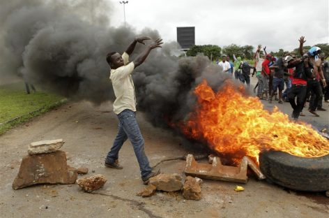 World condemns Zim unrest