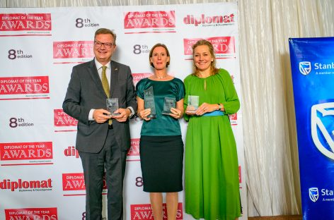 Swedish Ambassador scoops Diplomat of the Year Award