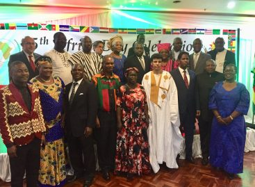 Harare diplomats celebrate Africa Day