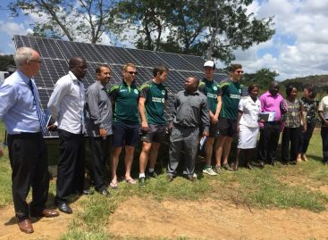 Ireland cricket team visits beneficiaries of UK and Irish aid support