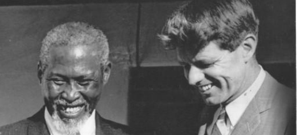 Historic: When Kennedy met Luthuli