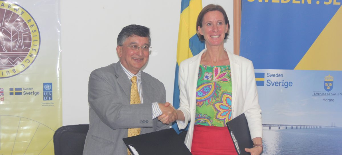 Sweden avails additional funding for ZRBF